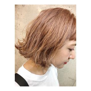 ブリーチ ストリート 女子力 ハイライト ヘアスタイルや髪型の写真・画像