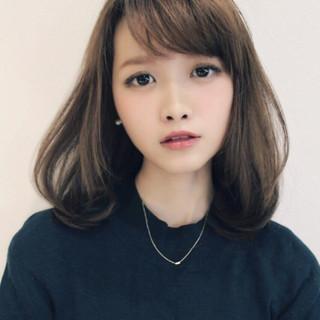 かわいい ローライト 暗髪 ナチュラル ヘアスタイルや髪型の写真・画像