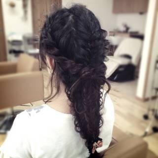 ロング パーティ ヘアアレンジ アップスタイル ヘアスタイルや髪型の写真・画像 ヘアスタイルや髪型の写真・画像