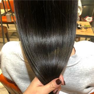 アッシュグレー グレージュ ナチュラル アッシュグレージュ ヘアスタイルや髪型の写真・画像