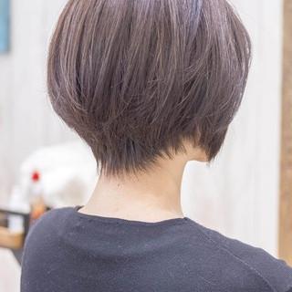 ショートヘア ハンサムショート ショート ショートカット ヘアスタイルや髪型の写真・画像
