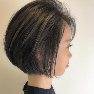 ナチュラル ショート 外国人風 大人女子 ヘアスタイルや髪型の写真・画像