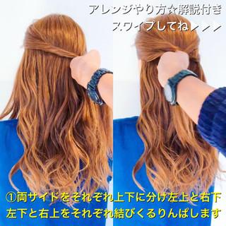 簡単ヘアアレンジ エレガント ヘアアレンジ ショート ヘアスタイルや髪型の写真・画像