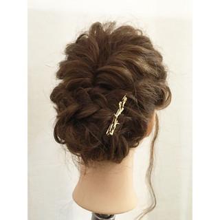 大人かわいい ショート ヘアアレンジ セミロング ヘアスタイルや髪型の写真・画像 ヘアスタイルや髪型の写真・画像