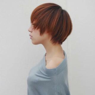 ストリート 似合わせ ショート 小顔 ヘアスタイルや髪型の写真・画像