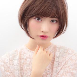 大人かわいい かわいい ショート ナチュラル ヘアスタイルや髪型の写真・画像 ヘアスタイルや髪型の写真・画像