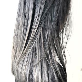 ストリート グラデーションカラー ダブルカラー ブリーチ ヘアスタイルや髪型の写真・画像