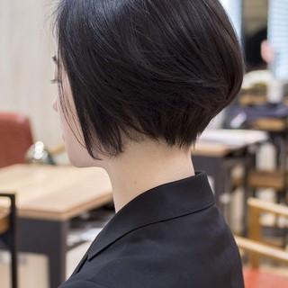 ミニボブ ショートカット ショート 大人かわいい ヘアスタイルや髪型の写真・画像