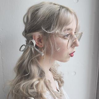 セミロング ヘアアレンジ ロブ 成人式 ヘアスタイルや髪型の写真・画像