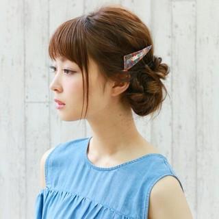 ショート 夏 セミロング 大人かわいい ヘアスタイルや髪型の写真・画像