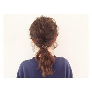 ショート ストリート ヘアアレンジ 簡単ヘアアレンジ ヘアスタイルや髪型の写真・画像 ヘアスタイルや髪型の写真・画像