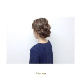 ストリート ヘアアレンジ アップスタイル ウェーブ ヘアスタイルや髪型の写真・画像 ヘアスタイルや髪型の写真・画像