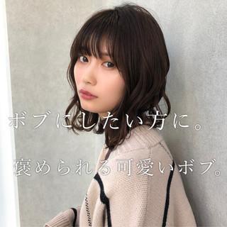 『ボブ・切りっぱなしボブ専門』銀座 永田邦彦さんのヘアスナップ