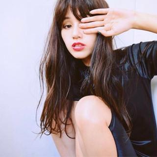 女子会 ガーリー オフィス アウトドア ヘアスタイルや髪型の写真・画像