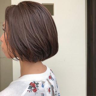 前下がりボブ ショートヘア ショートボブ ショート ヘアスタイルや髪型の写真・画像