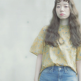 大人女子 ウェーブ ヘアアレンジ ロング ヘアスタイルや髪型の写真・画像