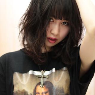 アンニュイ 外国人風カラー 艶髪 ボブ ヘアスタイルや髪型の写真・画像