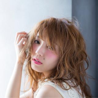 ゆるふわ 大人かわいい ブラウン グレージュ ヘアスタイルや髪型の写真・画像