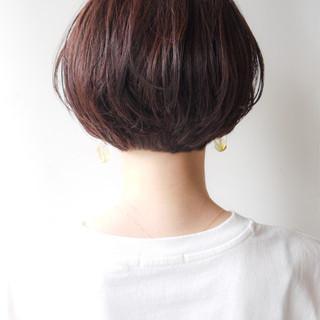 モテ髪 ゆるふわ ショート オフィス ヘアスタイルや髪型の写真・画像