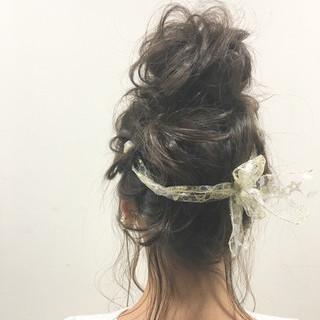 大人女子 セミロング ショート フェミニン ヘアスタイルや髪型の写真・画像