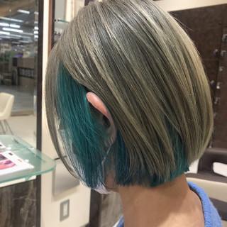 ショートヘア ショート ストリート ミニボブ ヘアスタイルや髪型の写真・画像
