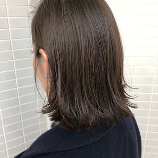 ワンレングス 切りっぱなしボブ モード ボブ ヘアスタイルや髪型の写真・画像