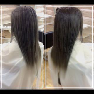 ロング 艶髪 髪質改善トリートメント 大人ヘアスタイル ヘアスタイルや髪型の写真・画像