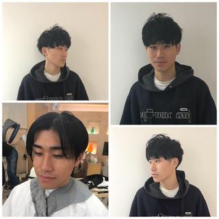 メンズショート ショート メンズヘア 刈り上げ ヘアスタイルや髪型の写真・画像