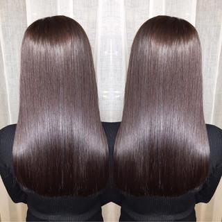 外国人風 ロング ナチュラル 艶髪 ヘアスタイルや髪型の写真・画像 ヘアスタイルや髪型の写真・画像
