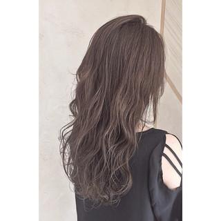 透明感 外国人風 イルミナカラー ストリート ヘアスタイルや髪型の写真・画像