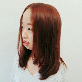 縮毛矯正 ナチュラル パーマ ロング ヘアスタイルや髪型の写真・画像