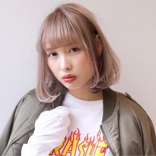 外国人風 ストリート アッシュ ニュアンス ヘアスタイルや髪型の写真・画像