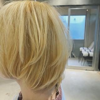 ウルフカット シナモンベージュ ストリート ミルクティーベージュ ヘアスタイルや髪型の写真・画像