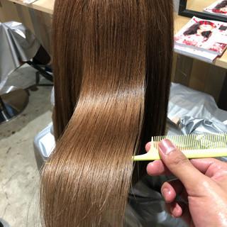 サイエンスアクア 髪質改善 ロング ナチュラル ヘアスタイルや髪型の写真・画像