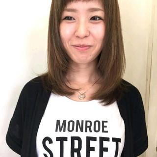 アッシュ ストリート グラデーションカラー 大人かわいい ヘアスタイルや髪型の写真・画像