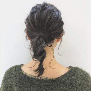 大人かわいい 透明感 アンニュイほつれヘア ミディアム ヘアスタイルや髪型の写真・画像