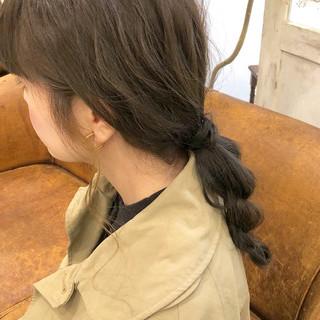 ヘアアレンジ 簡単ヘアアレンジ インナーカラー ブリーチ必須 ヘアスタイルや髪型の写真・画像 ヘアスタイルや髪型の写真・画像
