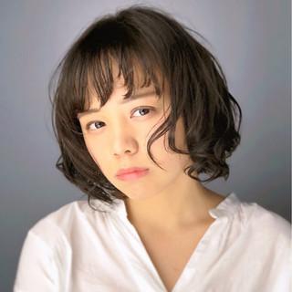 かわいい モテ髪 ショート 小顔 ヘアスタイルや髪型の写真・画像