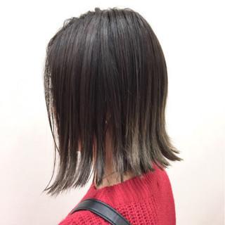 ボブ 透明感 ナチュラル 抜け感 ヘアスタイルや髪型の写真・画像