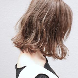 波ウェーブ 大人女子 こなれ感 ボブ ヘアスタイルや髪型の写真・画像