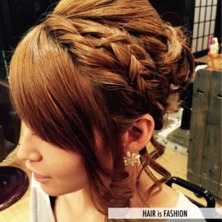 ヘアアレンジ ガーリー 愛され まとめ髪 ヘアスタイルや髪型の写真・画像 ヘアスタイルや髪型の写真・画像