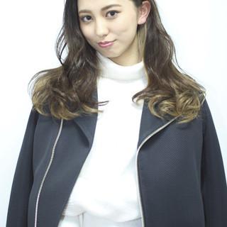 外国人風 グラデーションカラー ストリート 渋谷系 ヘアスタイルや髪型の写真・画像