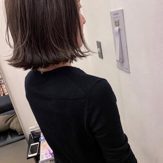 ボブ アンニュイほつれヘア デート 大人かわいい ヘアスタイルや髪型の写真・画像