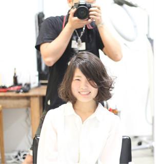 簡単 大人女子 パーマ デート ヘアスタイルや髪型の写真・画像