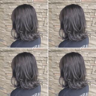グラデーションカラー ハイライト ナチュラル 秋 ヘアスタイルや髪型の写真・画像