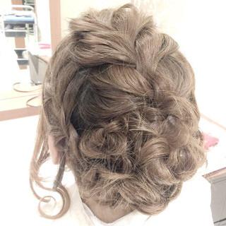 ヘアアレンジ ショート 結婚式 二次会 ヘアスタイルや髪型の写真・画像