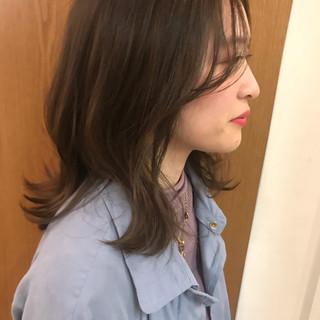 大人かわいい 抜け感 デート ナチュラル ヘアスタイルや髪型の写真・画像
