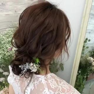 アンニュイほつれヘア 大人かわいい おしゃれさんと繋がりたい ゆるナチュラル ヘアスタイルや髪型の写真・画像