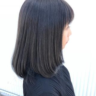 ロブ 謝恩会 結婚式 ヘアアレンジ ヘアスタイルや髪型の写真・画像