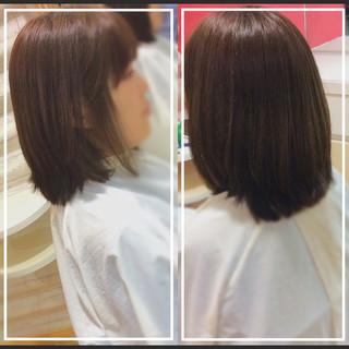 大人ヘアスタイル オフィス 髪質改善カラー デザインカラー ヘアスタイルや髪型の写真・画像